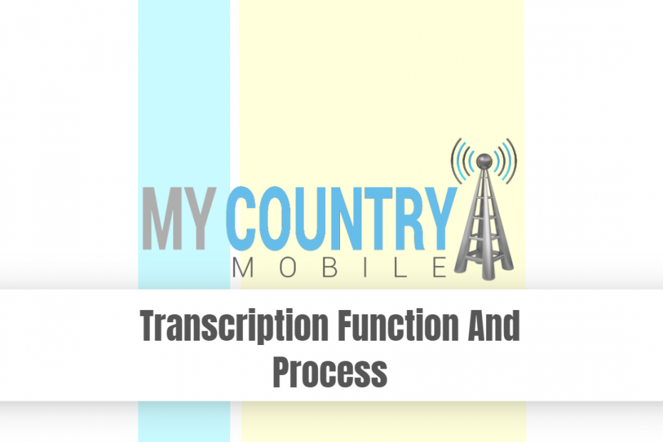 Transcription Function And Process - My Country Mobile